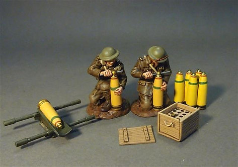 GWB-35 - Two Artillery Crew and Accessories  The Royal Garrison Artillery