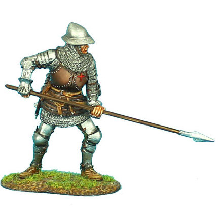 MED007 - English Man-at-Arms with Spear