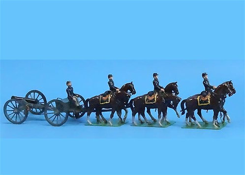 CORD-3002 - Union 6-Horse Caisson -ACW - (Possibly Wall) - 54mm - Metal - No Box