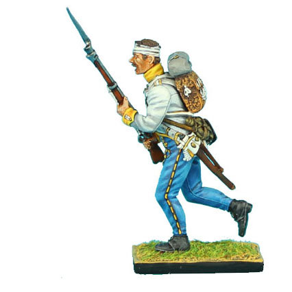 NAP0304 - Austrian Hahn Grenadier Charging Bandaged Head