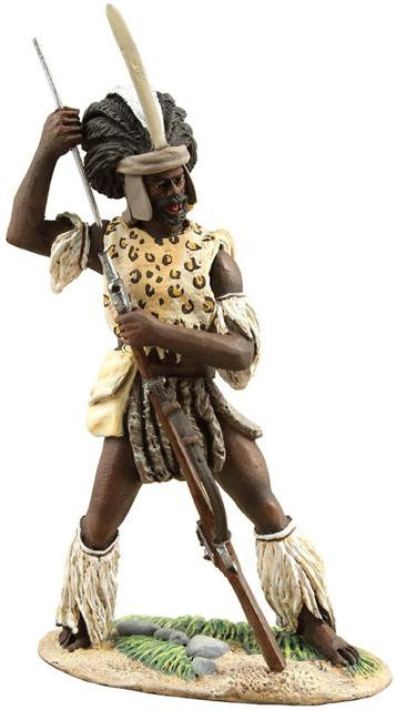 20111 - Zulu uThulwana Loading Flintlock Musket No.1
