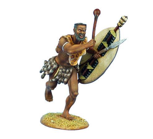 ZUL024 - uThulwana Zulu Warrior Charging