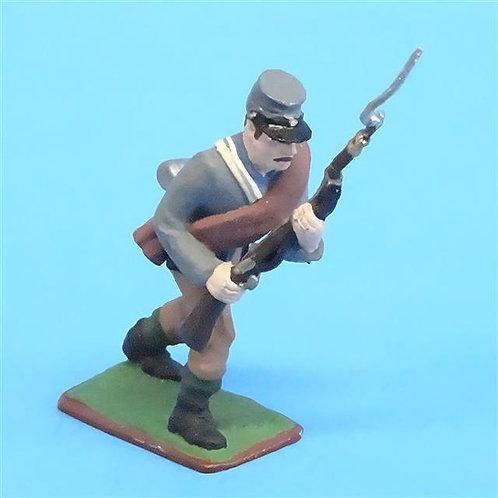 CORD-0849 - Confederate Advancing  - ACW - Niena - 54mm Metal - No Box