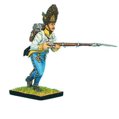 NAP0307 - Austrian Hahn Grenadier Charging Leveled Musket
