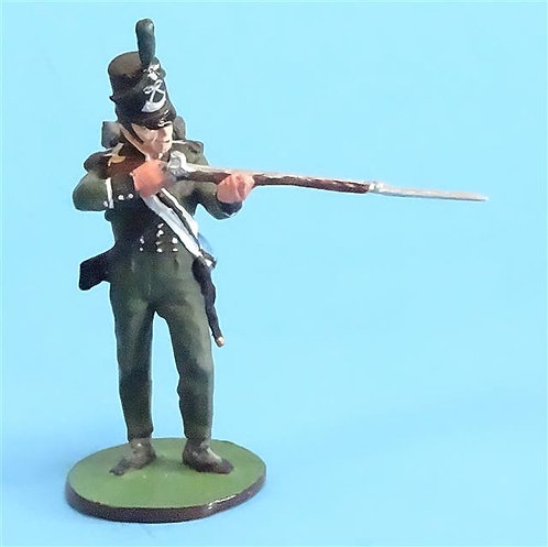 CORD-N0120 - 95th Rifles - Firing - Napoleonics - Nienna - 54mm Metal - No Box