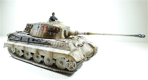 FOV003 - King Tiger Tank (31) - Includes Removable Plastic Figure