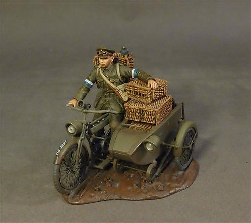 GWB-15D - Dispatcher Rider with Sidecar  Royal Engineers Signal Service (RESS)