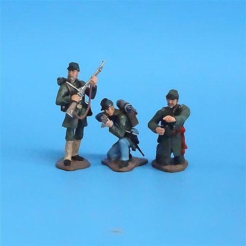 CORD-060 Berdan's Sharpshooters (3 Figures) - Manufacturer Unknown - 60mm Metal
