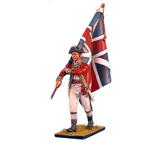 AWI023 - British 5th Foot Standard Bearer with Union Jack