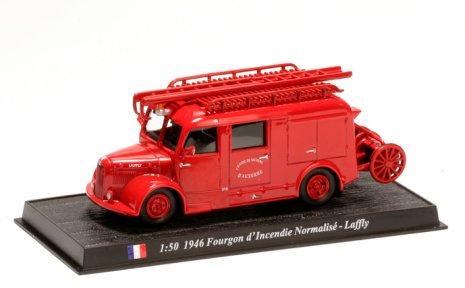 CBO092 - Van, Fire Standard, 1946, France  Scale: 1:50