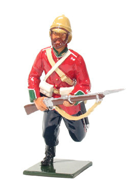 45008 - British 24th Foot Charging