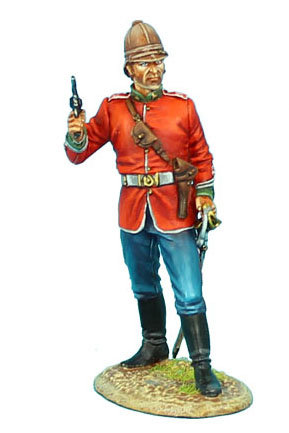 ZUL001 - British 24th Foot Officer