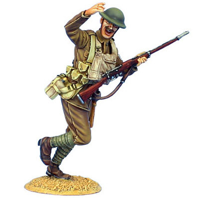 GW035 - British Infantry NCO Charging with MLM Mk. II - 11th Royal Fusiliers