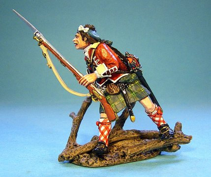 TIC-05 - 42nd Regiment of Foot, 1 Figure Hopping Right
