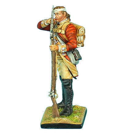 AWI047 - British 22nd Foot Standing Loading - Bandaged Head