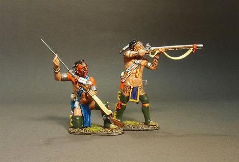 RR-31B - Stockbridge Indians, Woodland Indians Skirmishing B