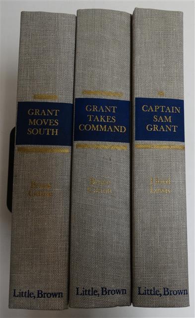 BK136 - Captain Sam Grant, Grant Moves South, Grant Takes Command Set