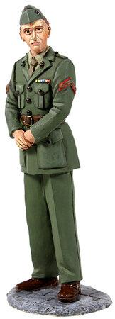13003 - U.S. Marine in Green Winter Service Dress, WWII