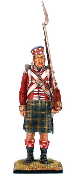 NAP0214 - 92nd Gordon Highlander Standing - Overweight