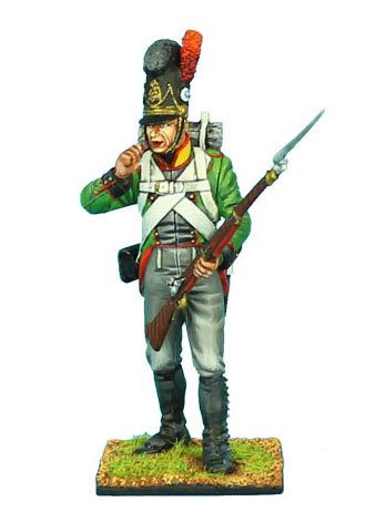 NAP441 - Bavarian Grenadier Biting Cartridge - 6th Light Infantry Batt. La Roche