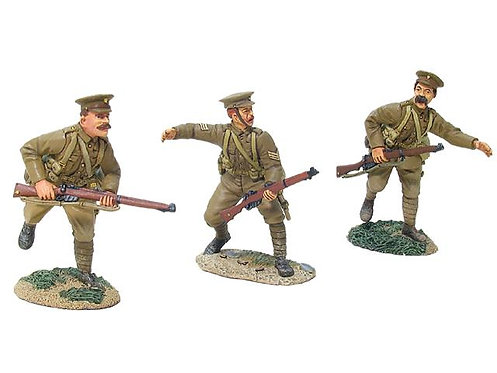17807 - British 4th Battalion, 1st Royal Fusiliers, Advancing Set No.1
