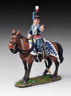 NAP27B - British Napoleonic Cavalry (Busby Hat)