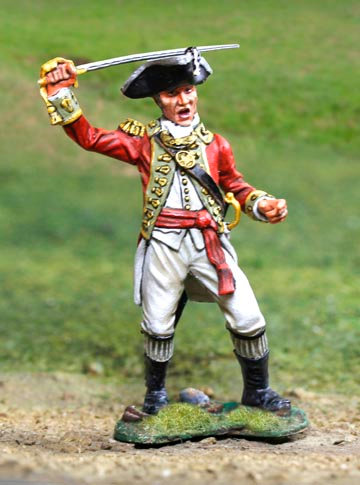 CS00833 - British Revolutionary War Officer
