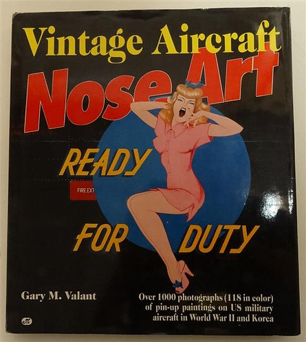 BK104 - Vintage Aircraft Nose Art (WWII and Korea) by Gary M. Valant