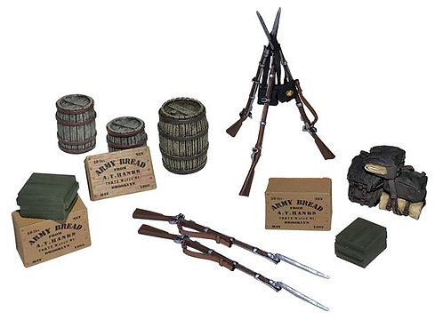 31268 - Civil War Encampment Accessory Set