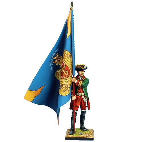 SYW033 - Russian Apsheronsky Musketeers Standard Bearer - Regimental Colors