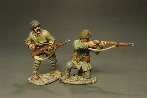 GLT-06 - Ottoman Infantry Firing  The Gallipoli Campaign