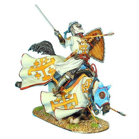 CRU053 - Mounted Kingdom of Jerusalem Knight Falling