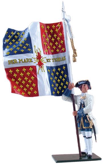 47043 - Compagnies franches de la Marine Color, 1754-1760