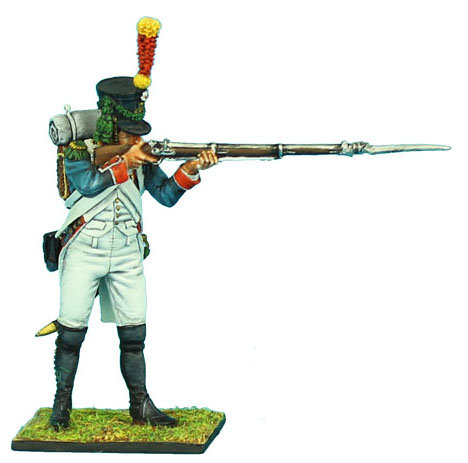 NAP340 - French 18th Line Infantry Voltigeur Standing Firing