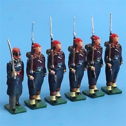 COWF-0033  41st New York Volunteer Infantry Regt  1861, DeKalb/Duysing's Zouaves
