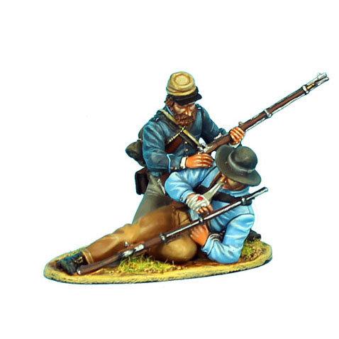 ACW062 - Confederate Infantry Two Figure Vignette