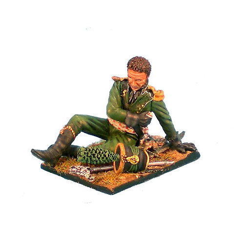 NAP0062 - Wurttemberg Jaeger Wounded Officer