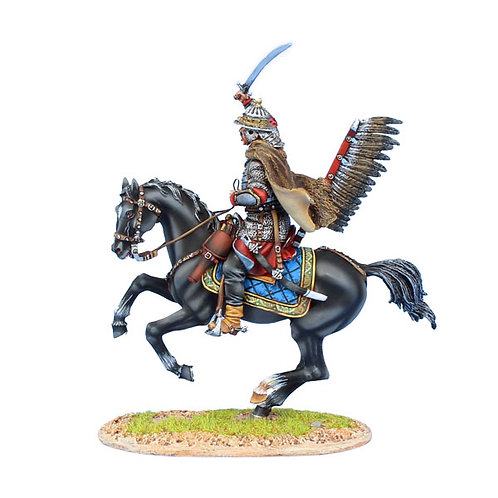 TYW009 - Polish Winged Hussar Attacking with Sword
