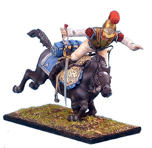 NAP076 - French 2nd Carabiniers Trooper Thrown from Horse