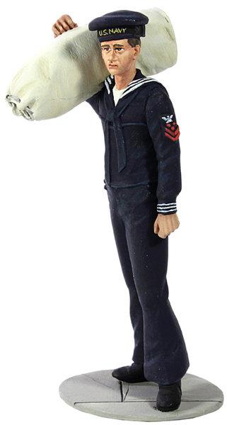 13006 - U.S. Navy Sailor in Blue Winter Service Dress No.1