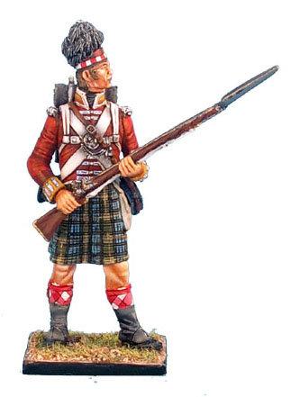 NAP0266 - 92nd Gordon Highlander Standing Ready