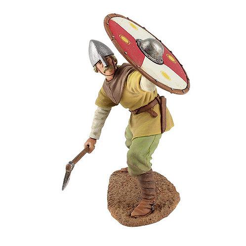 62101 - Viking Wearing Spangenhelm, Defending