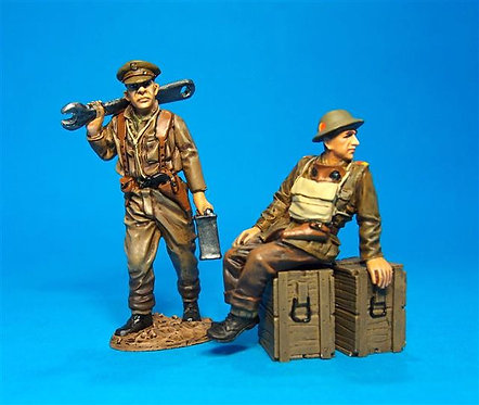 GWB-01B - W.J. Carney and C. Ribbans for Whippet Tank  The Great War