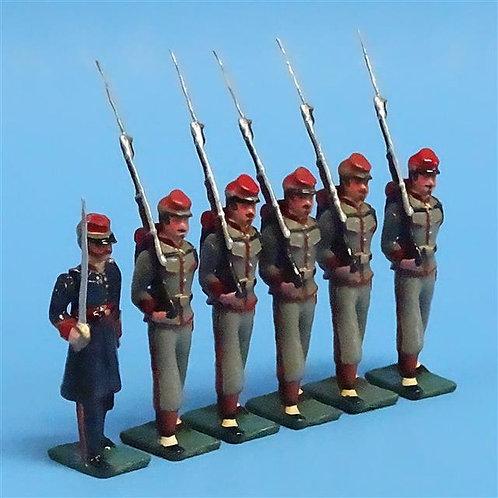COWF-0098 - Charleston Zouave Cadets, South Carolina McClellan Zouaves