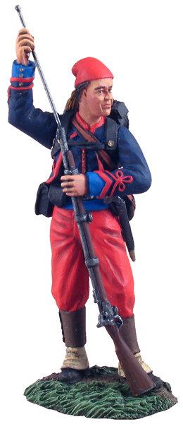 31102 -Union Infantry 114th Pennsylvania Standing Ramming Cartridge No.1