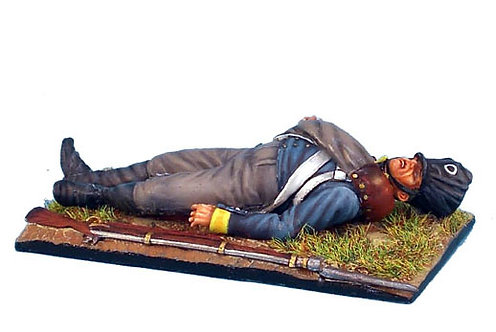 NAP161 - Prussian 11th Line Infantry Regiment Musketeer Lying Dead