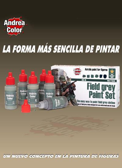 ACS-010 - Field Grey Paint Set - Andrea Color