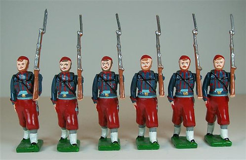 A364 - Louisiana Zouaves Marching - 6 pieces