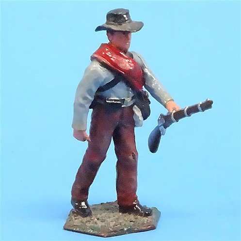 CORD-0814 - Confederate Soldier - ACW - New Hope Design - 54mm Metal - No Box