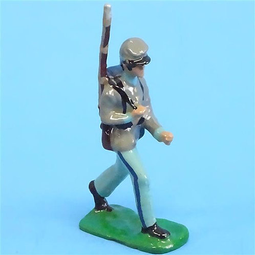 CORD-0876 Confederate Marching  - ACW Unknown Manufacturer - 54mm Metal - No Box